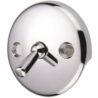 PROPLUS TUB DRAIN WITH TRIP LEVER FACE PLATE IN CHROME