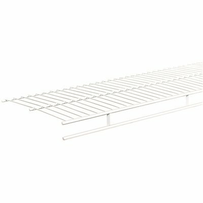 CLOSETMAID SHELF AND ROD 6 FT. X 12 IN. VENTILATED WIRE SHELF