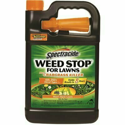 SPECTRACIDE WEED STOP 1 GAL. READY-TO-USE PLUS CRABGRASS KILLER SPRAYER