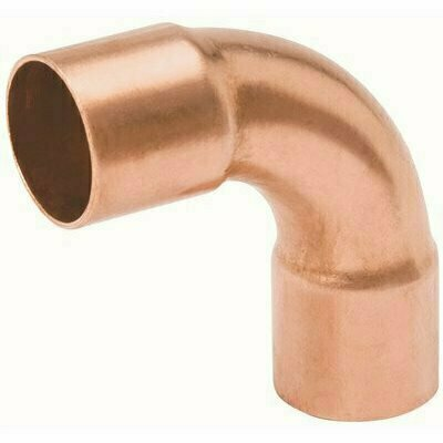 MUELLER STREAMLINE 1 IN. COPPER C X C 90-DEGREE LONG TURN ELBOW