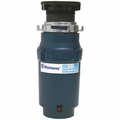 WHIRLAWAY 1/2 HP CONTINUOUS FEED GARBAGE DISPOSAL
