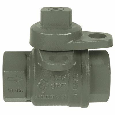 JOMAR 3/4 IN. FIP JOMAR LOCKWING UTILITY GAS METER VALVE