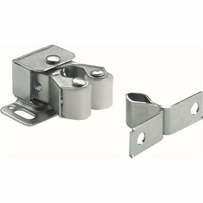 EVERBILT DOUBLE ROLLER CATCH WITH SPEAR, ZINC PLATED (50-PACK)