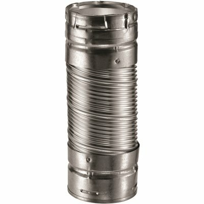 DURAVENT DURACONNECT 4 IN. DIA X 12 IN. DOUBLE-WALL FLEX CONNECTOR