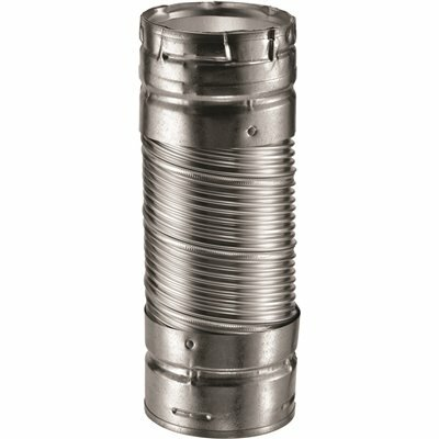 DURAVENT DURACONNECT I 4 IN. DIA X 48 IN. L SINGLE-WALL FLEX CONNECTOR