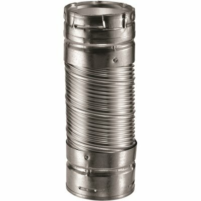 DURAVENT DURACONNECT 4 IN. DIA X 24 IN. DOUBLE-WALL FLEX CONNECTOR