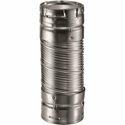 DURAVENT DURACONNECT 3 IN. X 36 IN. DOUBLE-WALL CHIMNEY PIPE