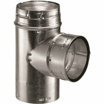 DURAVENT 6 IN. DIA TYPE B GAS VENT STANDARD TEE