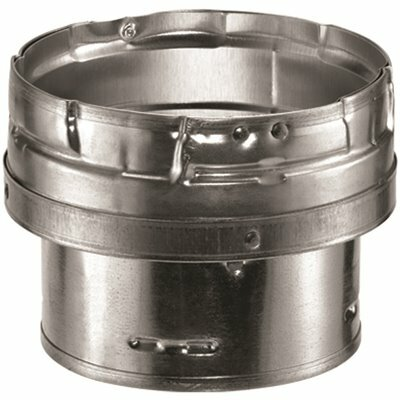 DURAVENT TYPE B GAS VENT 3 IN. DIA X 5 INCREASER