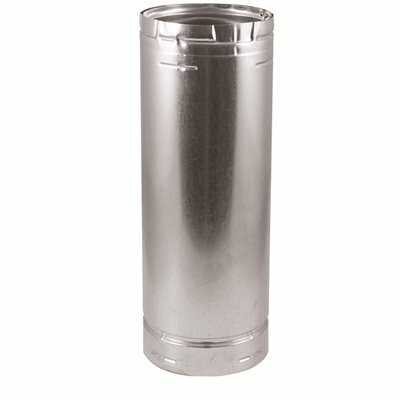 DURAVENT 6 IN. X 36 IN. L DIA TYPE B GAS VENT PIPE