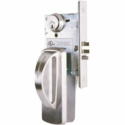 TOWNSTEEL LIGATURE RESISTANT SATIN STAINLESS STEEL MORTISE LOCK STOREROOM ARCH TRIM DESIGN