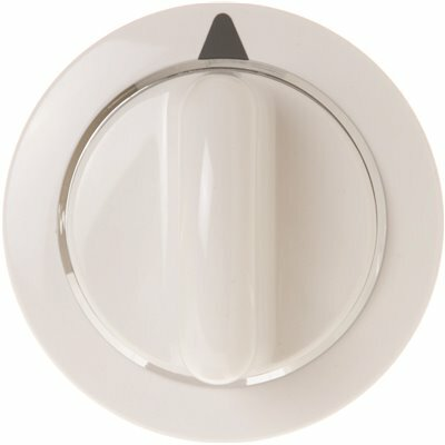 GE DRYER TIMER KNOB ASSEMBLY WHITE