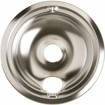 GE RANGE 8 IN. CHROME BURNER BOWL