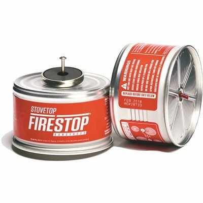 STOVETOP FIRESTOP CASE OF RANGEHOOD FIRE EXTINGUISHER