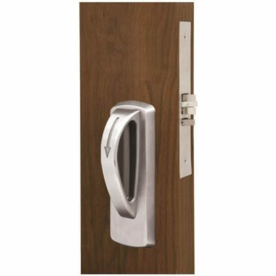 TOWNSTEEL MRXA SERIES LIGATURE RESISTANT STAINLESS STEEL MORTISE LOCK ARCH TRIM DESIGN, FEMALE PRIVACY