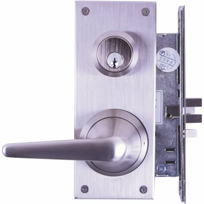TOWNSTEEL MRXE SERIES LIGATURE RESISTANT STAINLESS STEEL MORTISE LOCK ESCUTCHEON LEVER TRIM