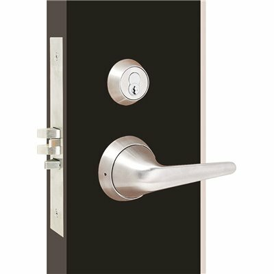 TOWNSTEEL MRXS SERIES LIGATURE RESISTANT STAINLESS STEEL MORTISE LOCK SECTIONAL LEVER TRIM