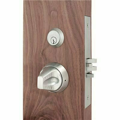 TOWNSTEEL MRXS SERIES LIGATURE RESISTANT STAINLESS STEEL MORTISE LOCK SECTIONAL KNOB TRIM