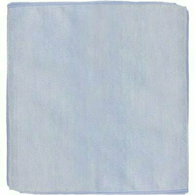 RENOWN 12 IN. X 12 IN. GENERAL PURPOSE MICROFIBER CLOTH IN BLUE (12-PACK)