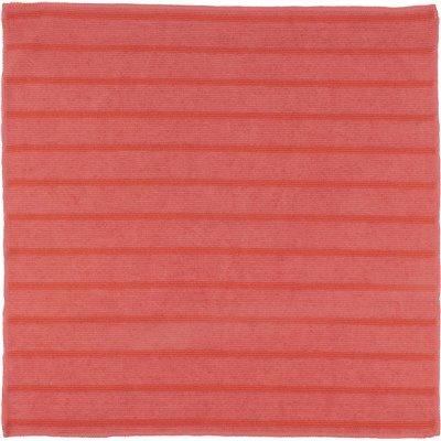 RENOWN 16 IN. X 16 IN. SCRUBBING MICROFIBER CLOTH IN RED (12-PACK)