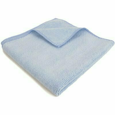 RENOWN 16 IN. X 16 IN. GENERAL PURPOSE MICROFIBER CLOTH IN BLUE (12-PACK)