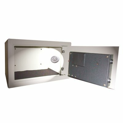 LODGING STAR 0.75 CU. FT. ALL STEEL HOTEL SAFE WITH ELECTRONIC LOCK, WITH MOTION SENSOR LIGHT