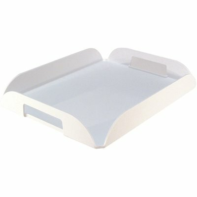 LODGING STAR 11 IN. X 14 IN. WHITE HOSPITALITY TRAY