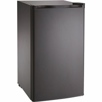 LODGING STAR 3.6 CU.FT. MINI REFRIGERATOR WITHOUT FREEZER IN BLACK