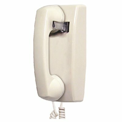 LODGING STAR WALL PHONE NO DIALPAD, BEIGE