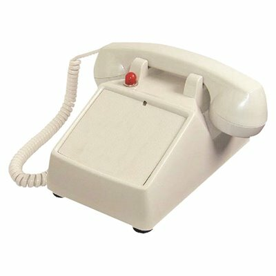 LODGING STAR DESKTOP PHONE NO DIALPAD, BEIGE