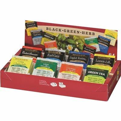 BIGELOW TEA 8-FLAVOR TEA ASSORTMENT TEA TRAY PACK