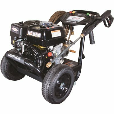 SIMPSON 3000 PSI 2.7 GPM GAS PRESSURE WASHER POWERED BY HONDA