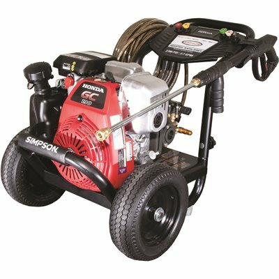 SIMPSON 2700 PSI 2.7 GPM GAS PRESSURE WASHER POWERED BY HONDA