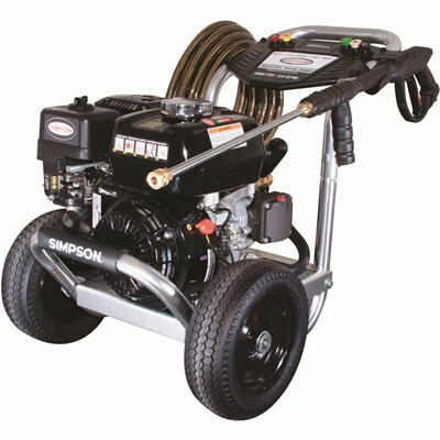 SIMPSON 3000 PSI 3.0 GPM GAS PRESSURE WASHER POWERED BY HONDA