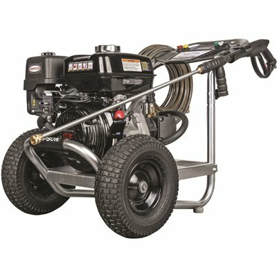 SIMPSON 4400 PSI 4.0 GPM GAS PRESSURE WASHER POWERED BY HONDA