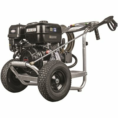 SIMPSON 4400 PSI 4.0 GPM GAS PRESSURE WASHER POWERED BY SIMPSON