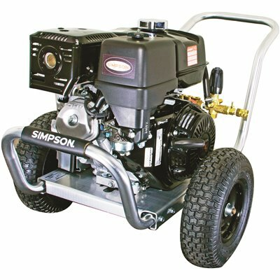 SIMPSON 4200 PSI 4.0 GPM GAS PRESSURE WASHER POWERED BY HONDA
