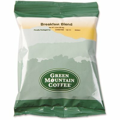 GREEN MOUNTAIN COFFEE ROASTERS BREAKFAST BLEND CAFFEINATED COFFEE (100-PACK)
