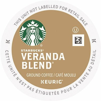 STARBUCKS VERANDA BLEND COFFEE K-CUP