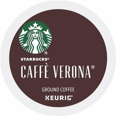 STARBUCKS CAFFE VERONA COFFEE K-CUP