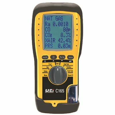 UEI TEST INSTRUMENTS EAGLE X COMBUSTION ANALYZER WITH EOS AND HIGH ALTITUDE COMPENSATION