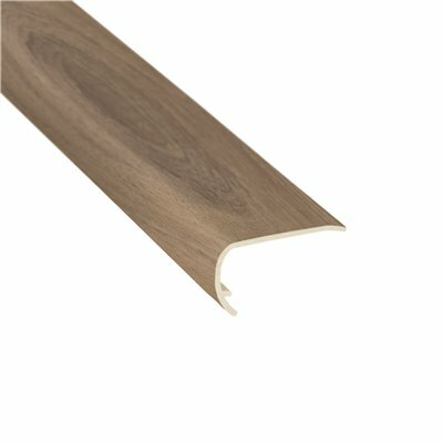 SHAW MANOR OAK WESTON 1/8 IN. THICK X 1-3/4 IN. WIDE X 94 IN. LENGTH VINYL STAIR NOSE MOLDING