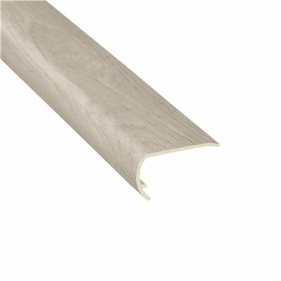 SHAW MANOR OAK ZEPHYR 1/8 IN. THICK X 1-3/4 IN. WIDE X 94 IN. LENGTH VINYL STAIR NOSE MOLDING
