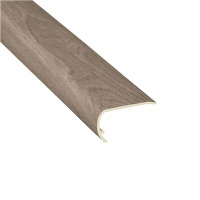 SHAW MANOR OAK BARBELL 1/8 IN. THICK X 1-3/4 IN. WIDE X 94 IN. LENGTH VINYL STAIR NOSE MOLDING
