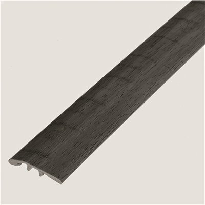 SHAW MELROSE OAK RIFLE 1/8 IN. THICK X 1-3/4 IN. WIDE X 72 IN. LENGTH VINYL MULTI-PURPOSE REDUCER MOLDING