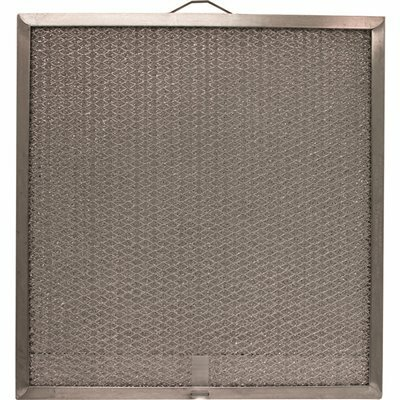 ALL-FILTERS 11.25 IN. X 11.75 IN. X .34 IN. ALUMINUM RANGE HOOD FILTER