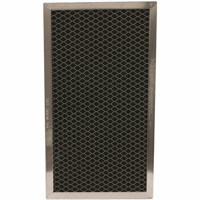 ALL-FILTERS 3.125 IN. X 5.25 IN. X .34 IN. CARBON RANGE HOOD FILTER