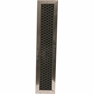 ALL-FILTERS 2.38 IN. X 10.25 IN. X .34 IN. CARBON RANGE HOOD FILTER