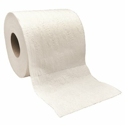 GREENLINE 100% RECYCLED 2 PLY WHITE TOILET TISSUE (500 SHEETS PER ROLL 96 ROLLS PER CASE)