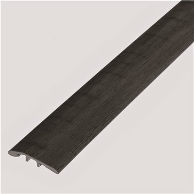 SHAW SMITH FLOWERS WEATHERED BARNWOOD 1/8 IN. THICK X 1-3/4 IN. WIDE X 94 IN. LENGTH VINYL MULTI-PURPOSE REDUCER MOLDING